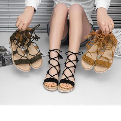 LLNONG Fashion Women Toe Flower Flat Bottom Shoes Summer Sandals Open Toe Rome Sandals Bohemia Style Beach Sandals