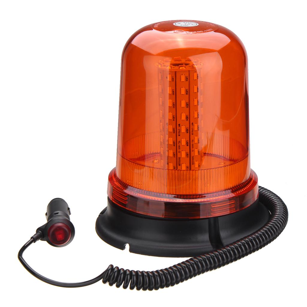 Car vehicle 12v Revolving amber safety beacon recovery lamp magnetic flashing