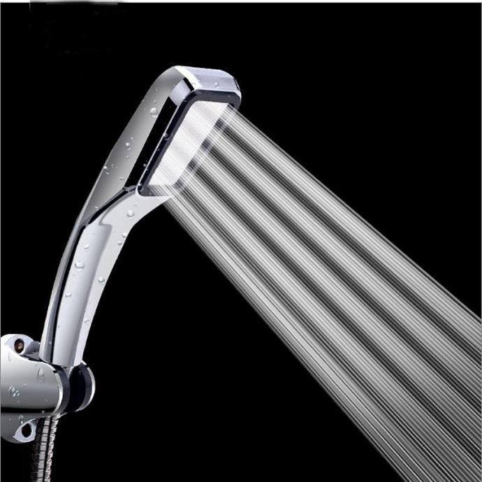 For High Quality Super Supercharged 300/% Handheld Rain Shower Head Water Saving
