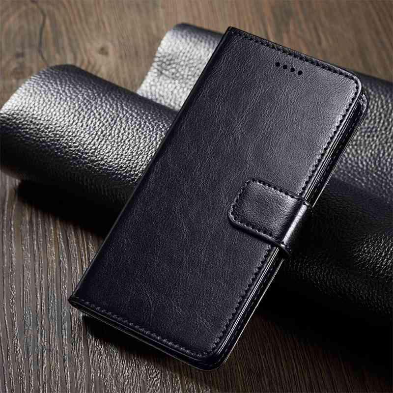 Классический дизайн книги Flip Капа PU Кожаный кошелек Обложка Мягкий TPU Силиконовый Коке Xiaomi Редми