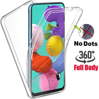 Shockproof 360 Full Body Cover For Samsung A10 A01 A12 A02 A32 A52 A72 A11 A31 A51S21 Ultra Xiaomi Redmi Note 10 Pro 9T 9A 9C 8 8T 7