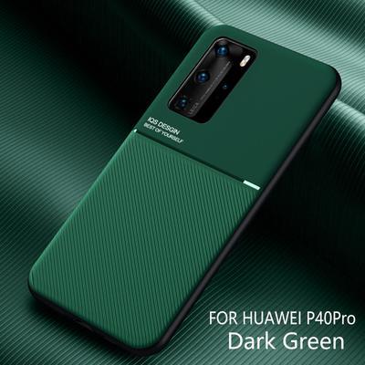 Leather Texture Matte Case Cover For Huawei P40 P30 Lite Mate 40 30 Pro Honor 20 V30 Nova 5T P Smart
