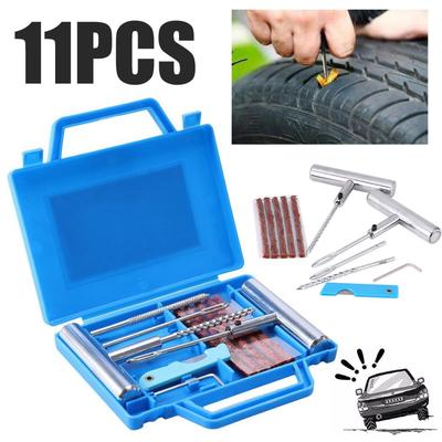 Bicycle Tyre Puncture Tyre Repair Tool Kit Rubber Patch Mini Set Y7O4