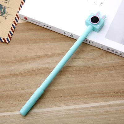 1//3//5 PCS Cartoon Mini Camera Gel Pen Black Ink School Supplies Stationery
