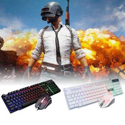 LED 3 Color Backlight//Crackle M-200 Multimedia Ergonomic USB Gaming Keyboard