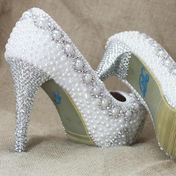 Blue I Do Blue) Me Too Set Acrylic Beads Bridal Groom Shoe Sticker ... 22078a4dea40