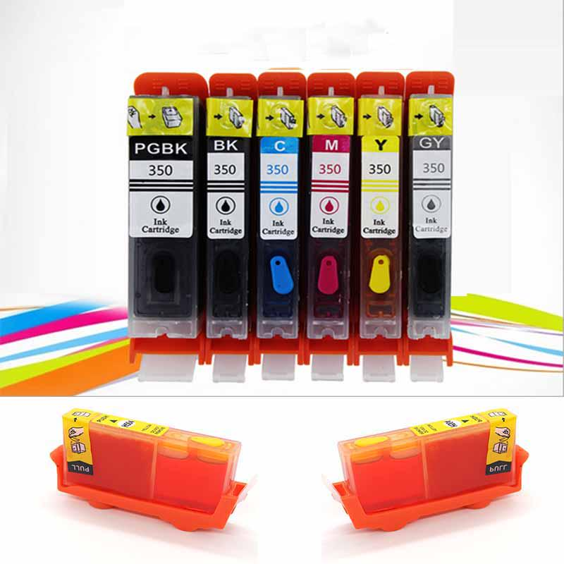 Refillable ink cartridge 8 pack cli-42 for canon pixma pro-100 colorful  chip school supplies