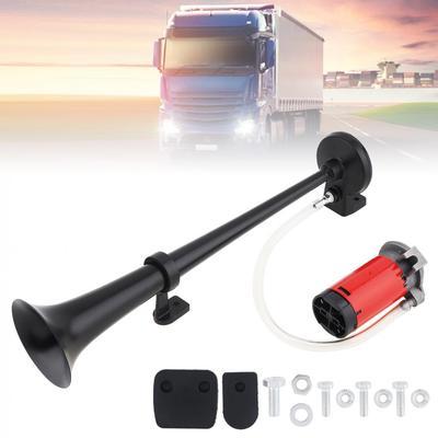 MagiDeal Truck Car RV Single Trumpet Air Horn Compressor 150db 12v