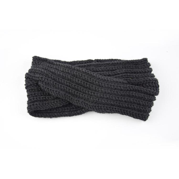 Punto de ganchillo hecho a mano diadema Headwrap mujeres caliente ...