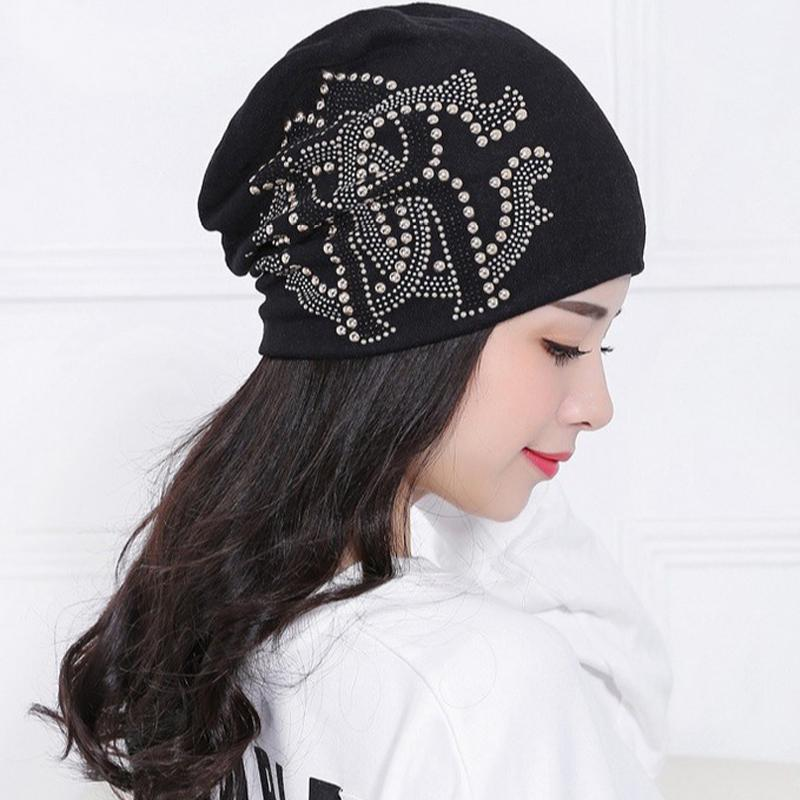 2018 Winter Ladies Knit Hat For Women Beanies Hat Flower Diamond -buy at a  low prices on Joom e-commerce platform cb15b7ff8aa4