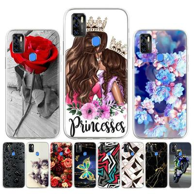 Soft Silicone Case for ZTE Blade A7S 2020 V2020 Smart V2020 Vita Case for ZTE Blade Axon 11 SE 5G Cover Painted Flower Cute Patterned Phone Bumper