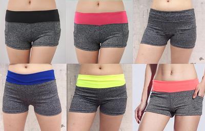 0ab2135f61baa9 Damskie spodenki gimnastyczne Summer Casual Printed Cool Women Sport Fitness