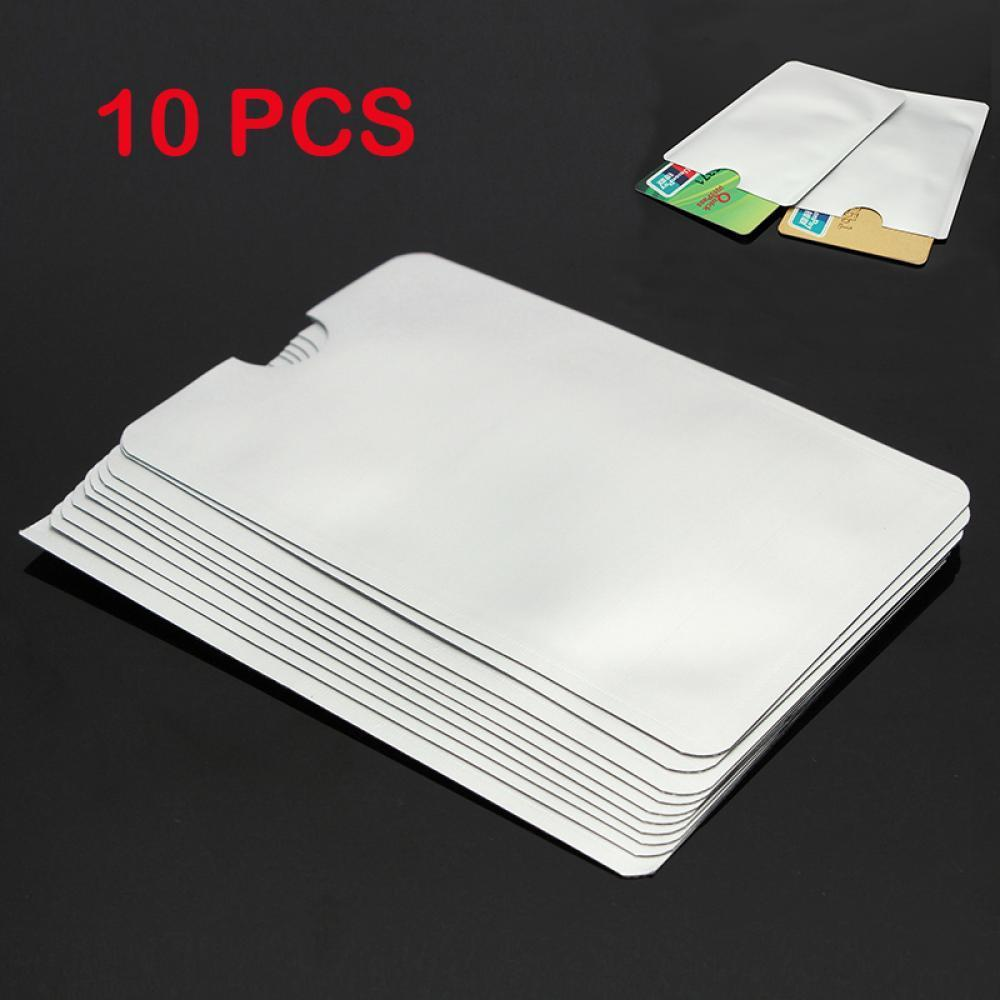10 pcs Transparent ID Cards Soft Clear Plastic Card Sleeves Protectors 6*9cm
