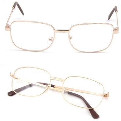 Fashion Bifocal Lens Rimmed Men's Reading Glasses  Metal Frame Eyeglasses