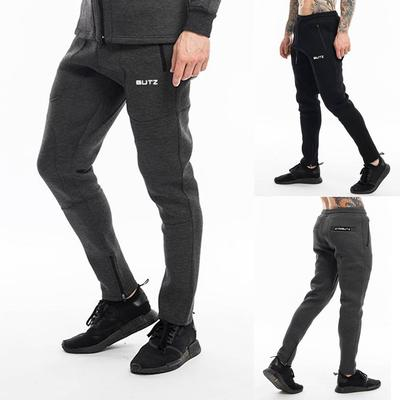 Men Pure Color Printed Overalls Casual Pocket Sport Work Casual Trouser Pants