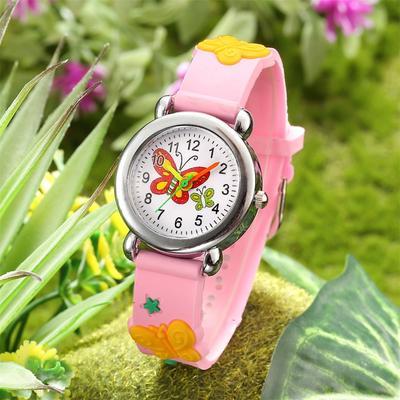 Cute Cartoon Pattern Watches Children Kids Boys Quartz Analog Wrist Watch Gift
