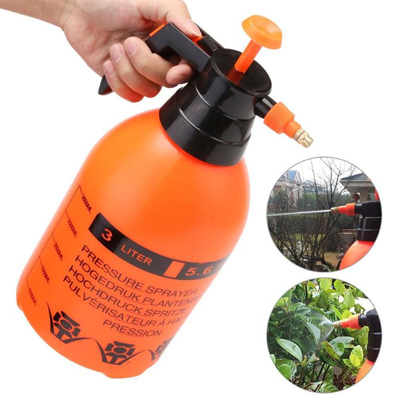 2L Sprayer Portable High Pressure Garden Bottle Water Sprayers Plants  Watering