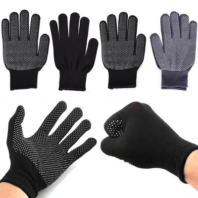 1 Pair Hair Straightener Perm Curling Hairdressing Heat Resistant Finger Glove Kitchen Glove Anti Abrasion Black Color Back To Search Resultsapparel Accessories