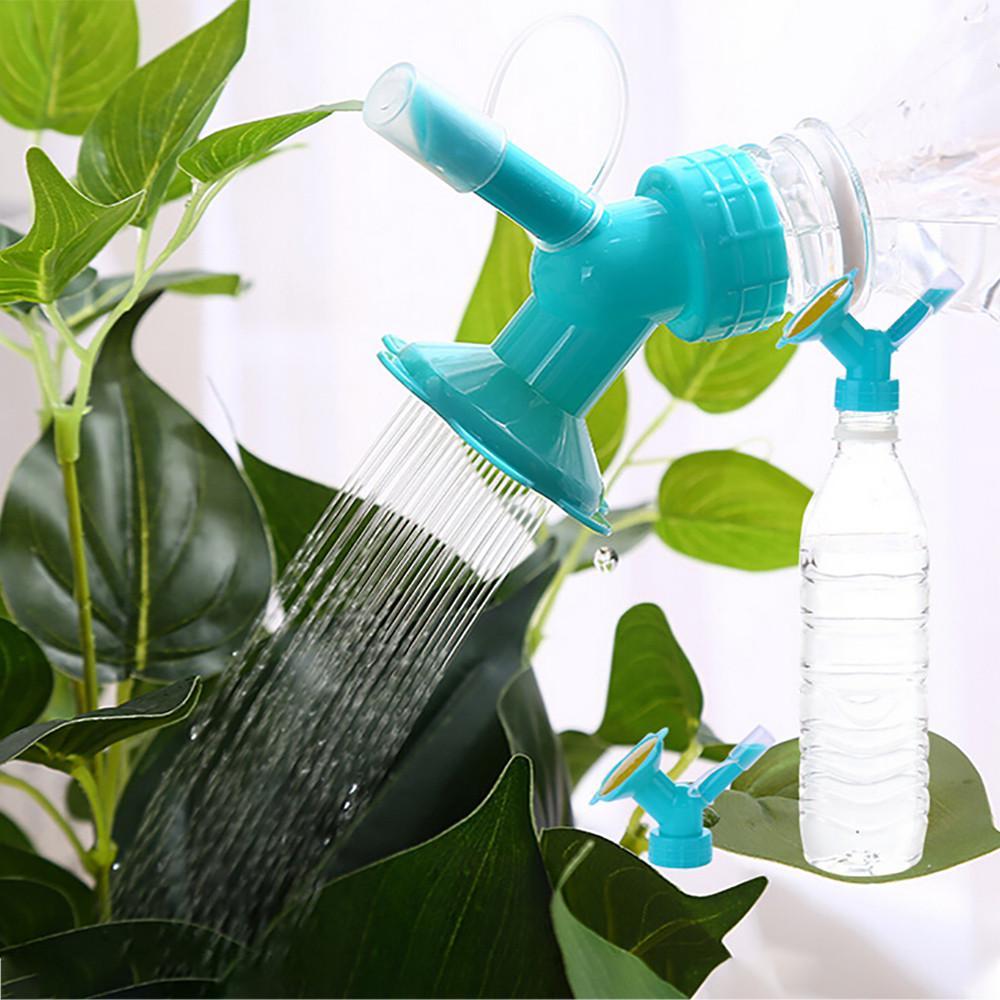 Arrosage Automatique Goutte À Goutte Avec Bouteille Plastique 2 en 1 en plastique par aspersion buse pour bouteille de fleur arroseurs  arrosage arrosoirs