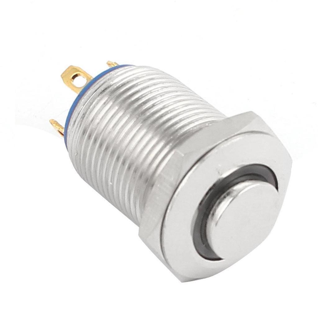 Grüne LED-Lampe SPST 12mm Panel Mount Metall Taster Taster – günstig ...