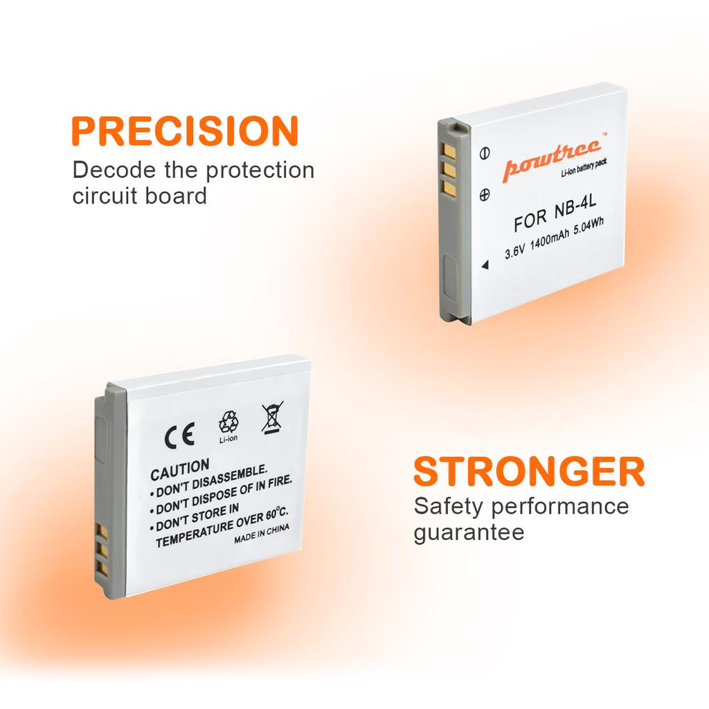 gaixample.org 3.6V 1250mAh Lithium Ion Replacement Battery for ...