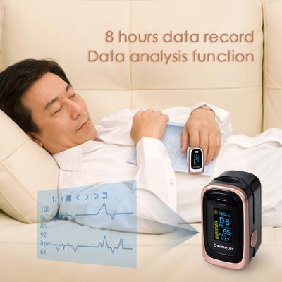 Finger Pulse Oximeter 4 Parameter SPO2 PR PI ODI4 Oximetro