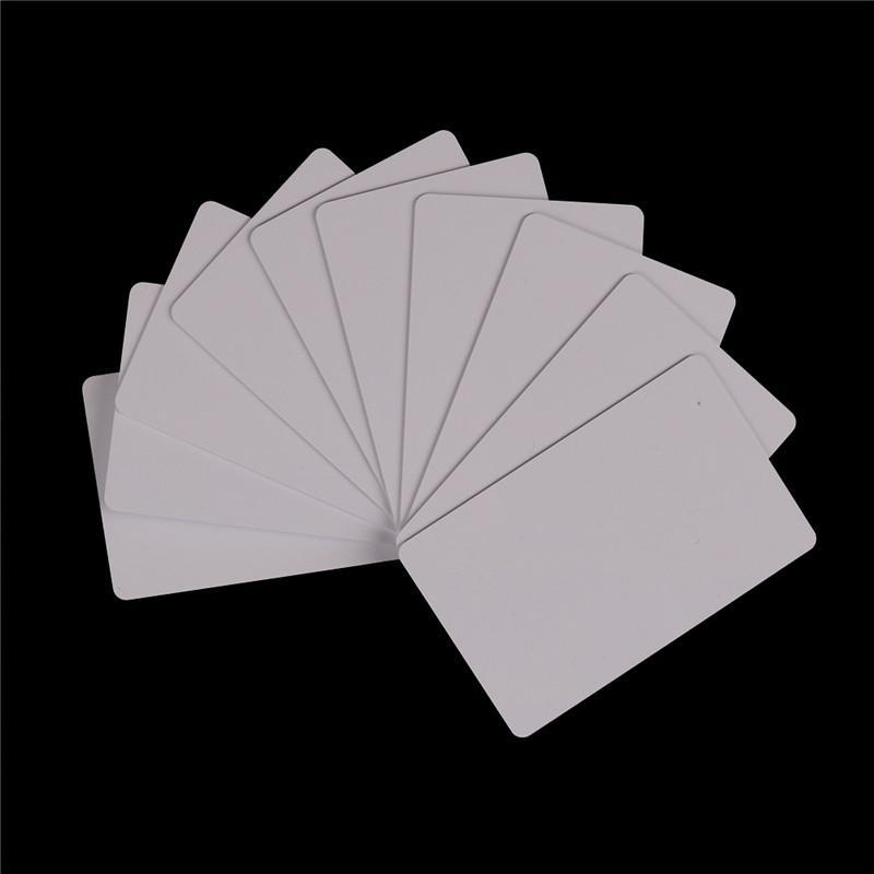 10Pcs 13.5MHZ UID Changeable M1 S50 1K NFC Card Copy Rewritable Blank IC  J