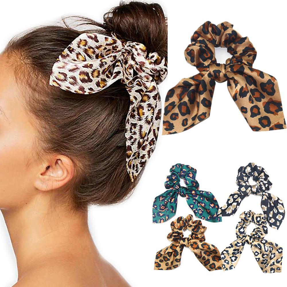 Fashion Women Girls Soft Wide Leopard Hairband Headband Hair Hoop Accessories