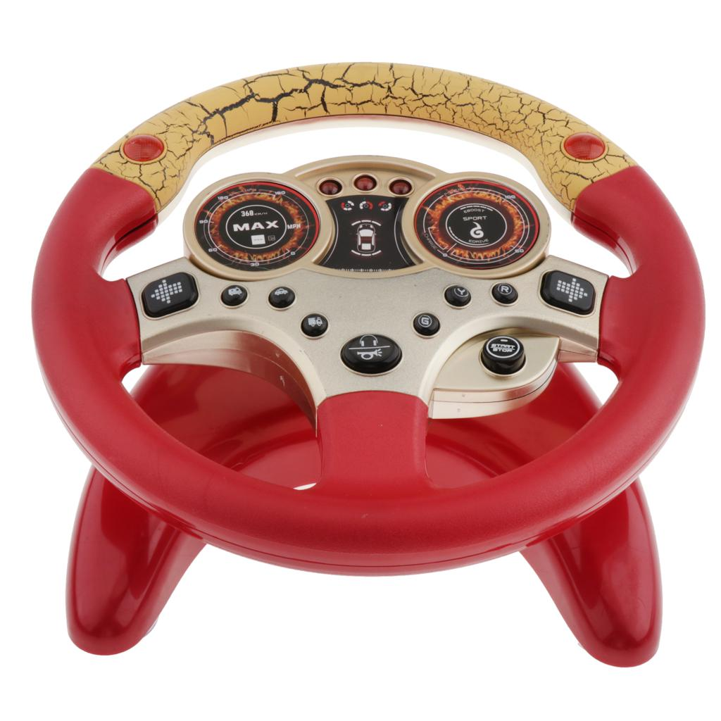 Plastic Steering Wheel Game With Baby Kids Pretend Dirver Toy Blue Buy At A Low Prices On Joom E Commerce Platform