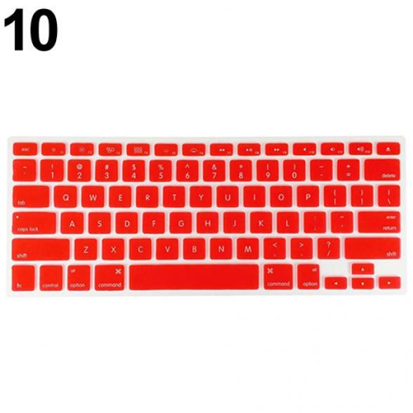 2020 Keyboard Soft Case Forair Pro 13//15//17 Inches Cover-Red