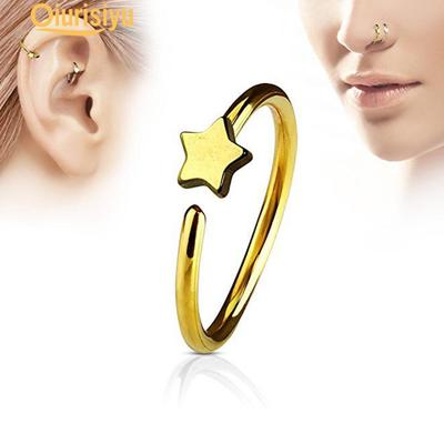 Men Women Star Fake Non Piercing Clip On Nose Ring Stud Club Fashion Jewelry Buy At A Low Prices On Joom E Commerce Platform