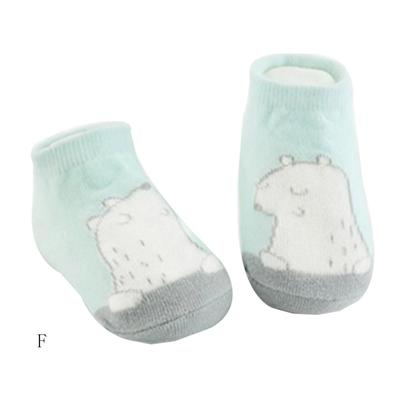 FEITONG Kids Infant Toddler Cute Unisex Baby Rabbit Cartoon solid Anti-Slip Warm Socks