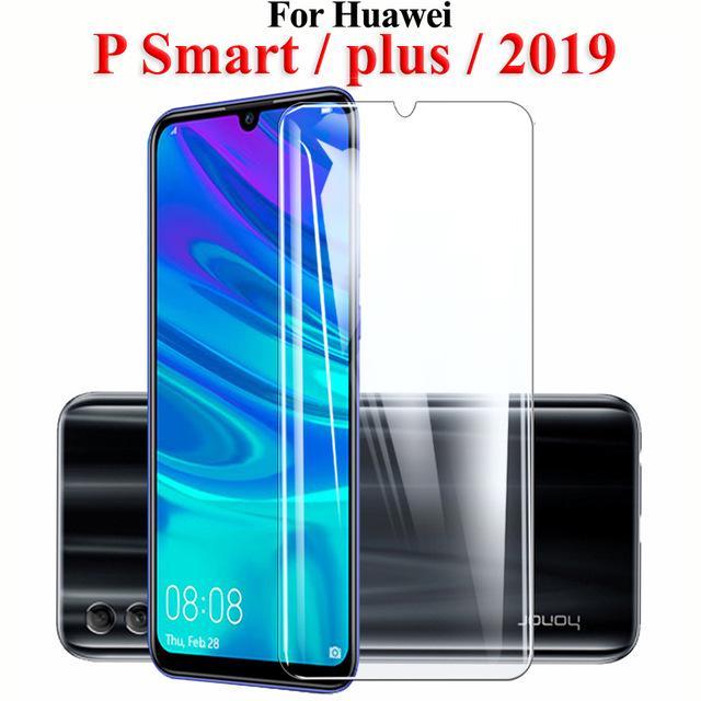 Защитное стекло для Huawei P смарт плюс PSmart + 2019 закаленное стекло для Huawei P9 P10 P20 P30 Lite фото