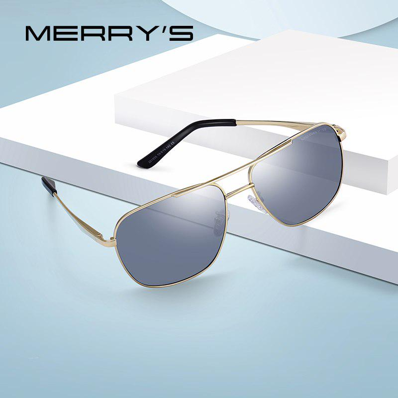 331d139587 MERRYS DESIGN Men Classic Square Sunglasses For Driving Luxury Male ...