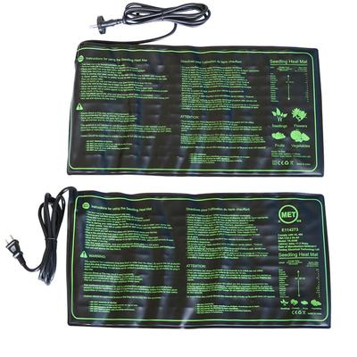 1 Pc Seedling Heat Mat Plant Seed Germination Growth Heat Mat 50x25cm 110V/220V 18W Garden Greenhouse Supplies US UK EU Plug
