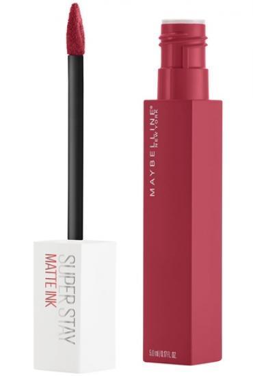 Gemey Maybelline - Matte Liquid Lipstick Superstay Matte Ink - 80 Ruler 3600531469481
