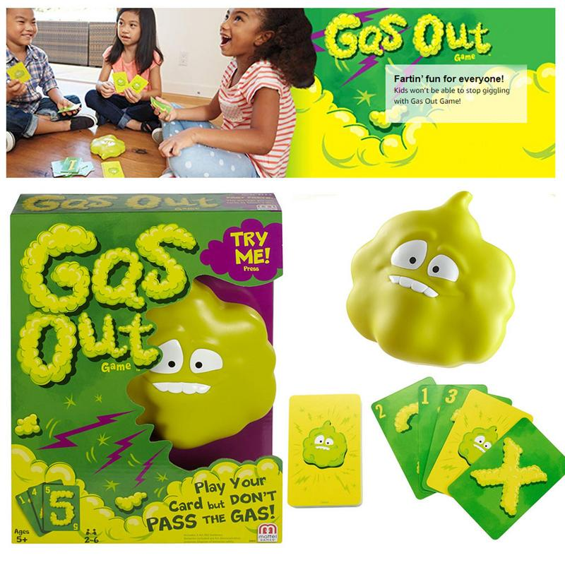 Novelty Funny Indoor Game Gas Out Board Game Desktop Games Kill Time Spoof Toy