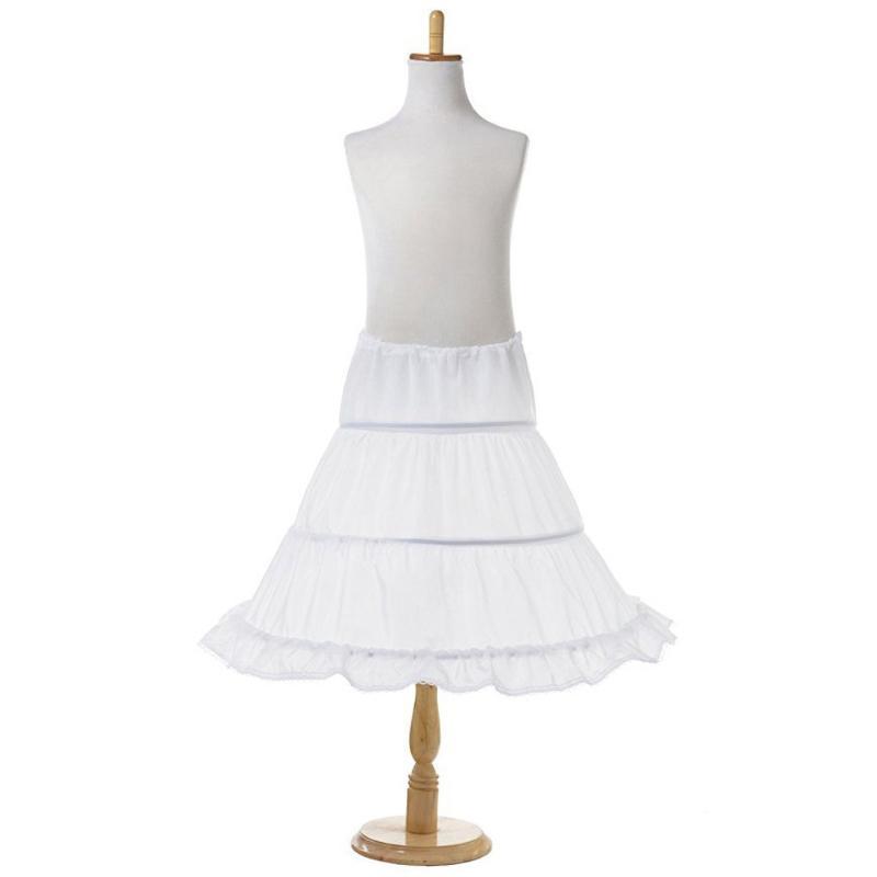 Flower Girl Kids Underskirt//Bridesmaid Crinoline//Communion Prom 3 Hoop Petticoat