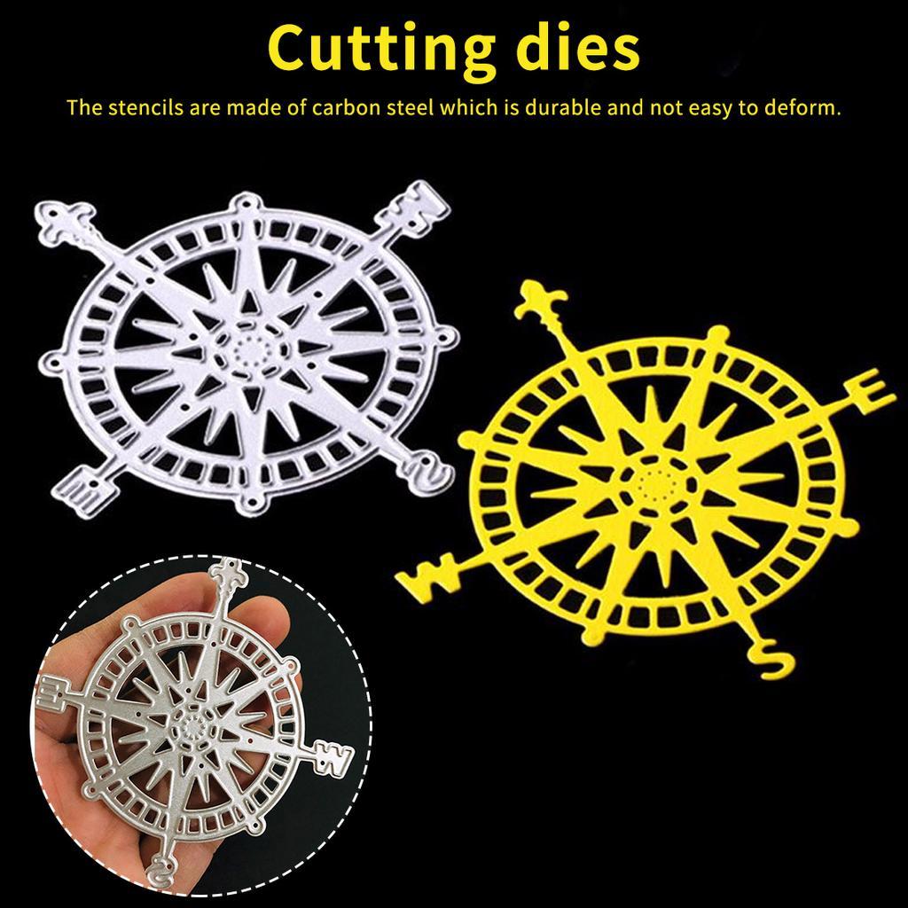 Christmas Carbon Steel Die Punching Machine Stencils Cutting Dies Birthday Gift