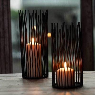 Black Bohemian Style Metal Desk Stand Candle Holders Wedding Candlestick  Home Decoration-buy at a low prices on Joom e-commerce platform