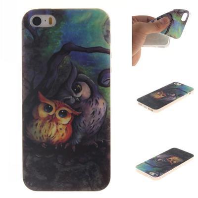 Phone Case for Iphone Samsung Huawei Sony LG Xiaomi ZTE Soft Slim TPU Cute Owl Painted