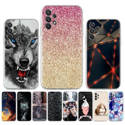 Soft Silicone Phone Case For Samsung Galaxy A32 Cases Multi-style Painted Cute Cat Back Cover For Samsung Galaxy A32 SM-A325F SM-A325F/DS 6.4 Inch