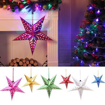 Xmas Tree Hanging Ornament Decoration Garland String Christmas Party JA