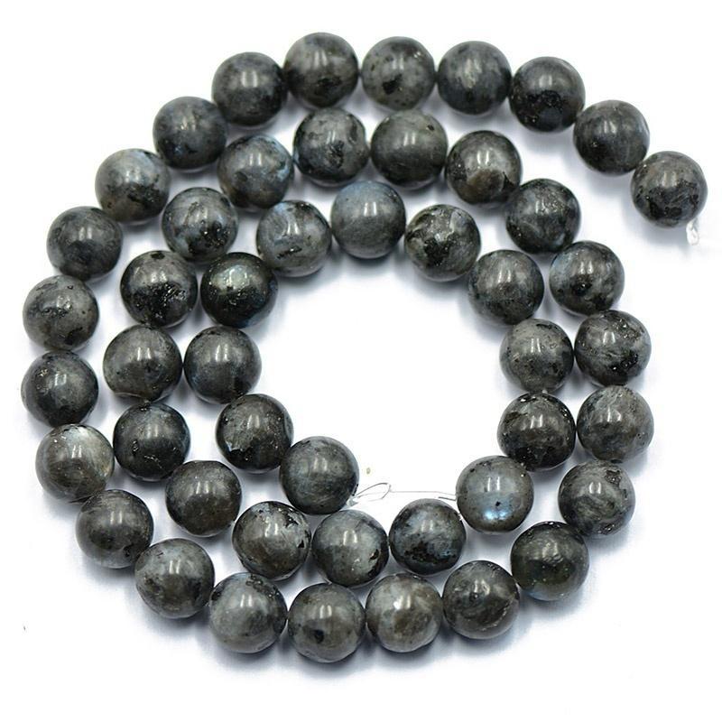 Piedras Preciosas Naturales 6mm Labradorita Redondo suelto bolas 15/'/'AAA
