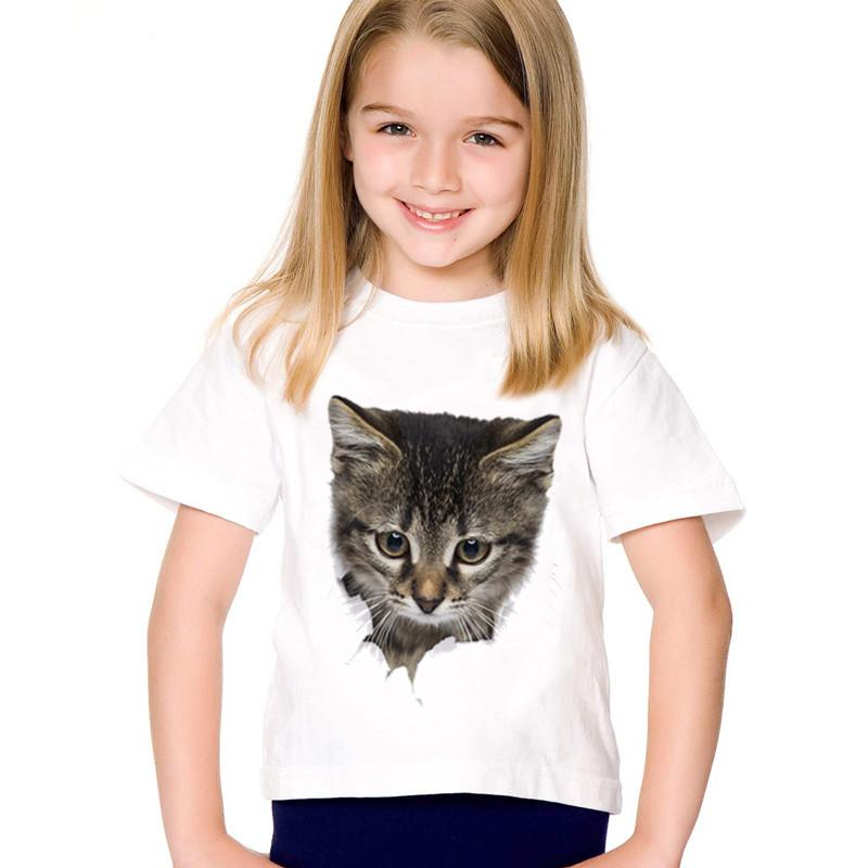 Animal Boys Kids Sketchy Crew Neck Casual Cotton Graphic T-Shirt Tee Top