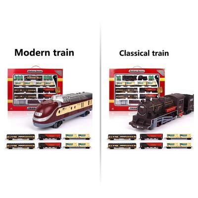 Electric Toys Battery Operated Railway Rail Train Toy Car with Sound