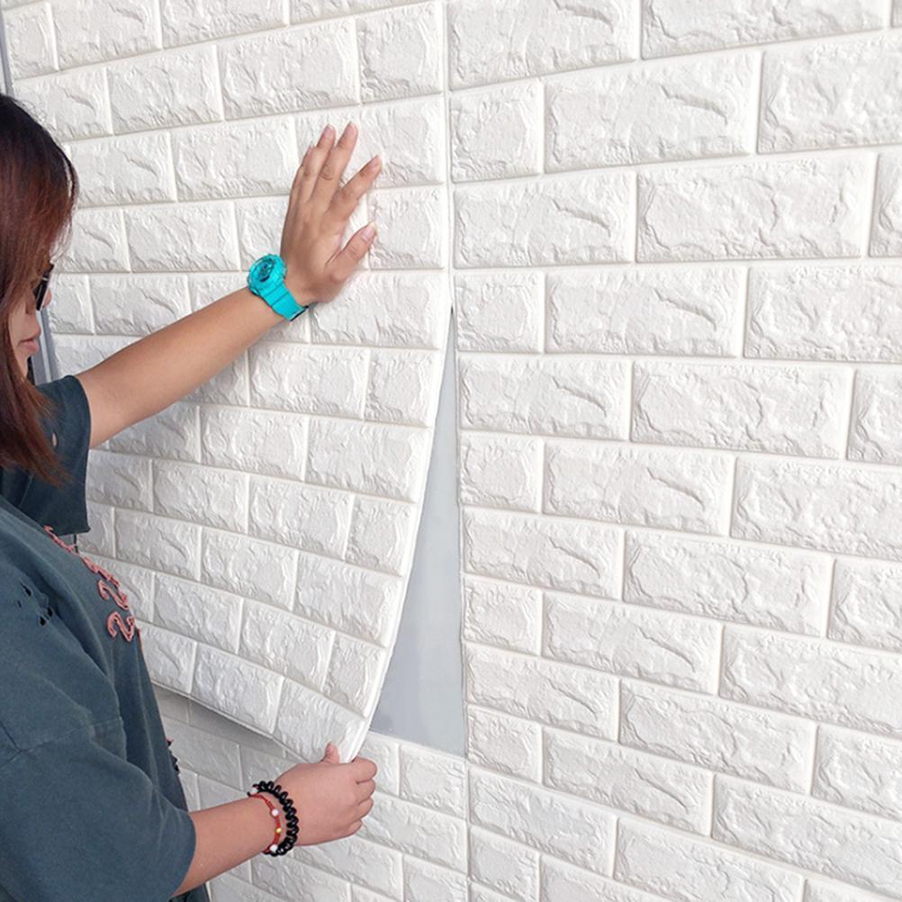 1 buc fidele simplu adezive Caramida tapet perete autocolante panou Decal  pentru Decor de perete TV pereţi - cumpărați cu prețuri reduse din  magazinul online Joom