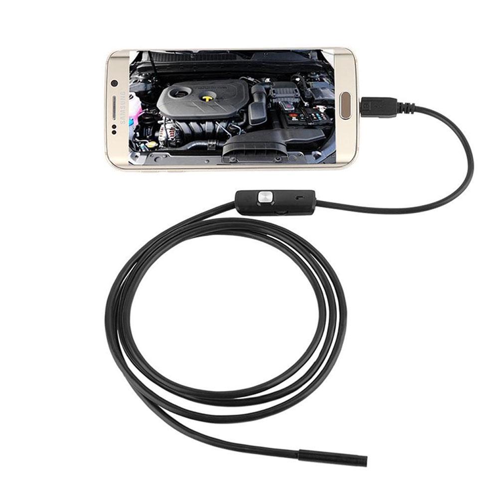 Endoskopkamera Inspektionskamera für Android /& PC USB 6EDs 7mm Linse Camera