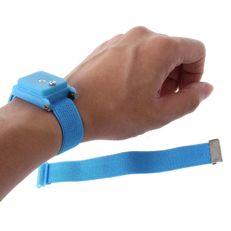 10PCS Wireless Cordless Anti-Static Wrist-Band Wristband Strap Discharge Cables