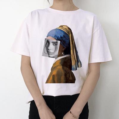 Billie Eilish Bad Guy Harajuku T Shirt Women Graphic Tees T Shirt
